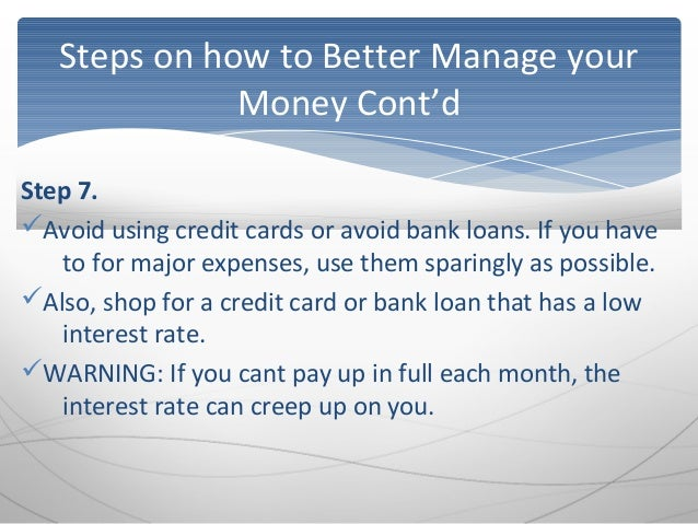 how to manage and secure your finances Our pick for the best personal finance software  if you need to get a handle on your finances  using personal finance programs to manage your budget.