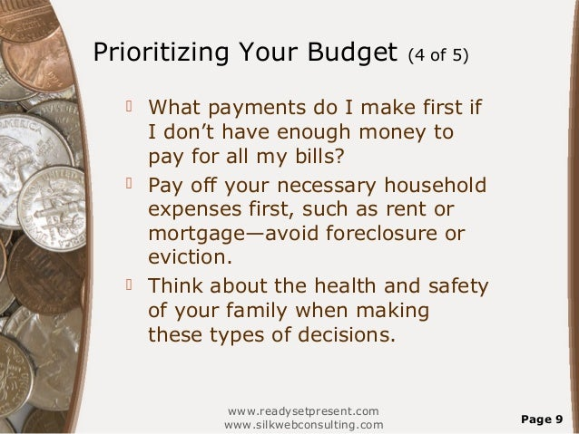 Money Management Personal Powerpoint Presentation