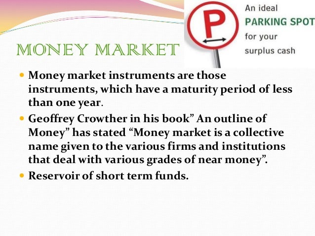 cblo a money market instrument It has been observed that financial institutions do employ money market instruments for financing short-term monetary requirements  cblo-a money market instrument .