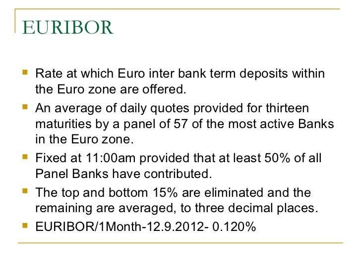 Money Market Instruments In France