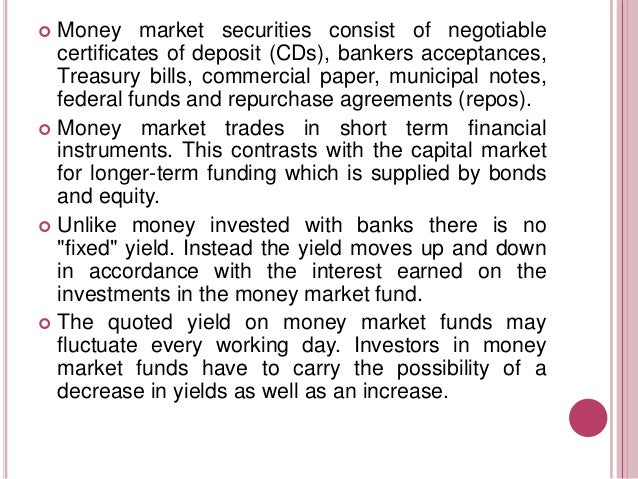 Money markets in south africa Slide 3