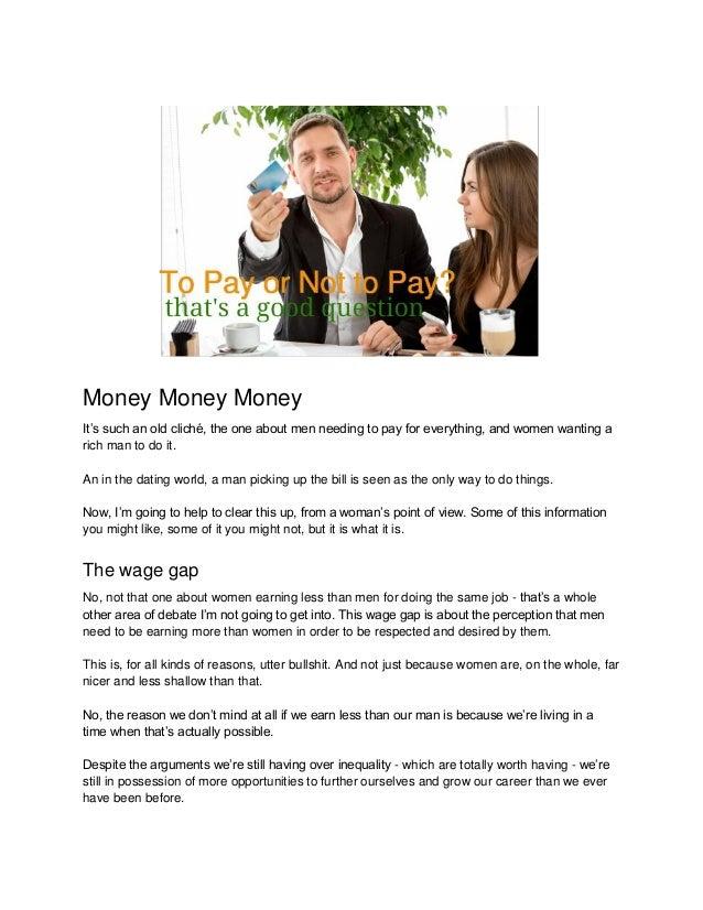 HARRIETT: Dating a man with no money