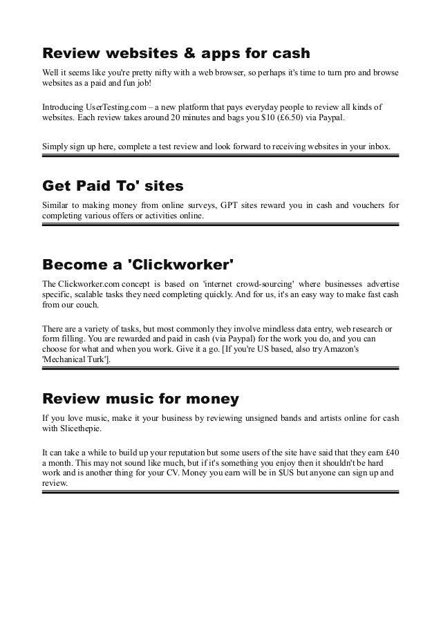 Best way to make money online at home