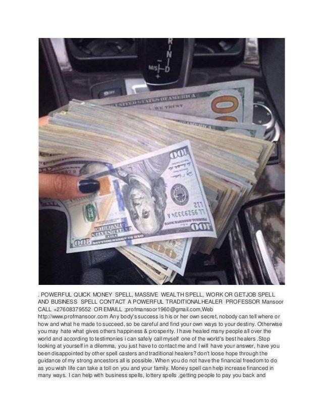 Powerful Money Spells, Witchcraft Spells Call +27735980298