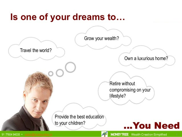 Is one of your dreams to… Grow your wealth? Provide the best education to your children? Travel the world? Own a luxurious...