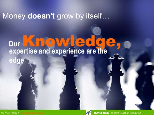 Our Knowledge,expertise and experience are the edge Money doesn't grow by itself… 8891 77604 94035 • sales@money-tree.in M...
