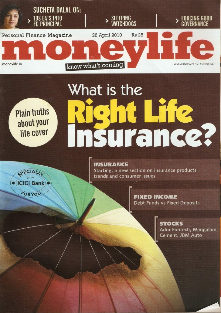 Moneywise Insuring Yourself