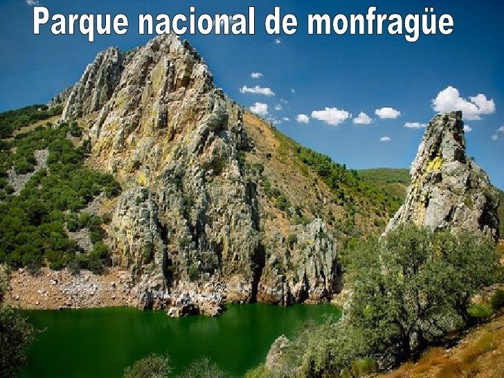 Parque nacional de monfragüe