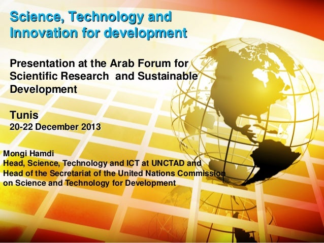 science technology and innovation