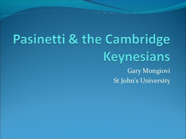Gary Mongiovi St John's University