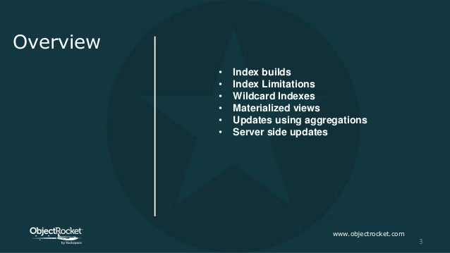 New Indexing and Aggregation Pipeline Capabilities in MongoDB 4.2 Slide 3