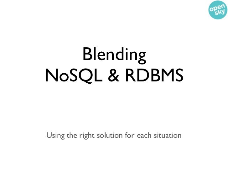 Our goal is to put as much  in Mongo as possible• What makes more sense in RDBMS? • Inventory • Orders