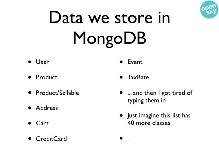 Wait. How does inventory live in SQL?Isn't that a property in one of your Mongo collections?