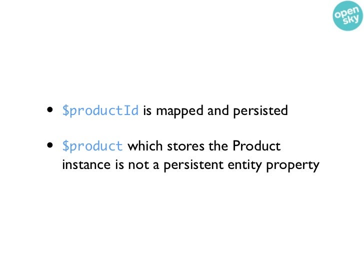 All Together Now// Create a new product and order$product = new Product();$product->setTitle(Test Product);$dm->persist($p...