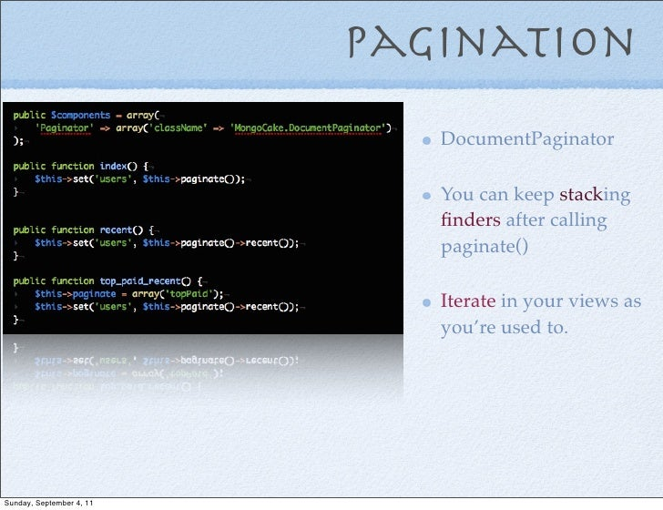 Pagination                             DocumentPaginator                             You can keep stacking                ...