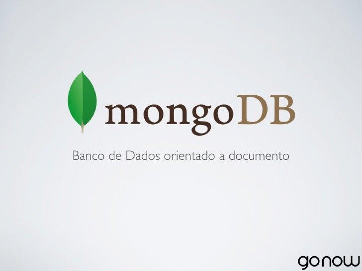 Banco de Dados orientado a documento