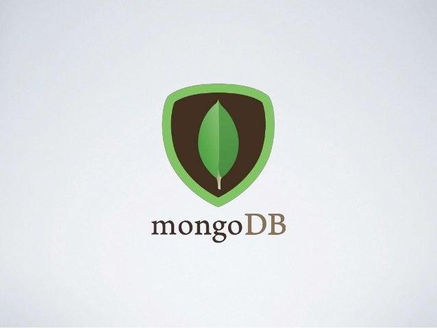 AGENDA • NoSQL • MongoDB • Mongo shell • Data Modeling • CRUD Operations • Logical Operations • Links Úteis • Prática