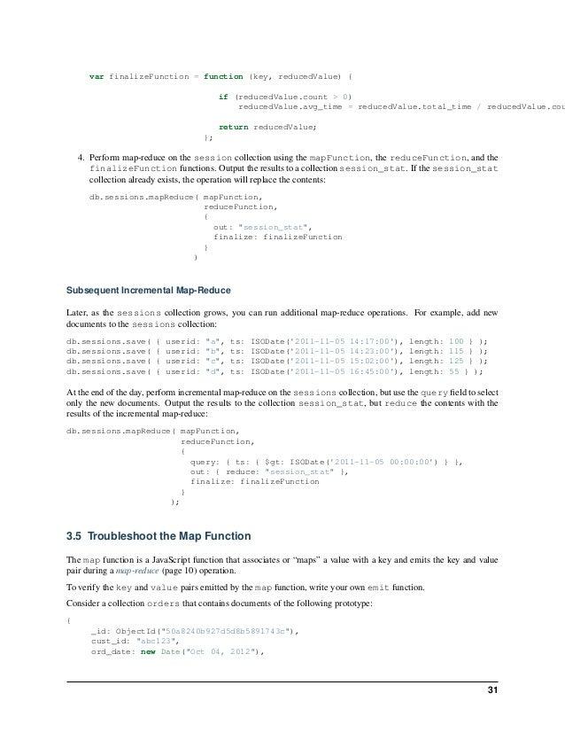 Mongo db aggregation guide