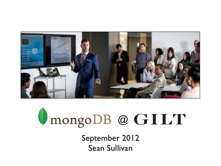 @September 2012  Sean Sullivan