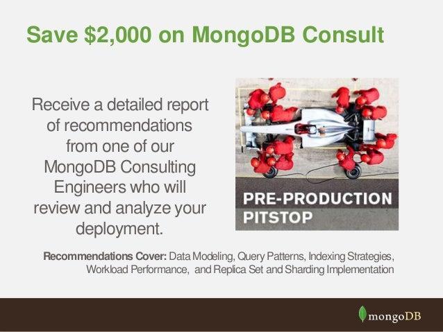 mongodb deployment checklist