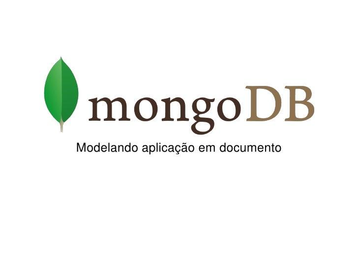 Modelando aplicação em documento