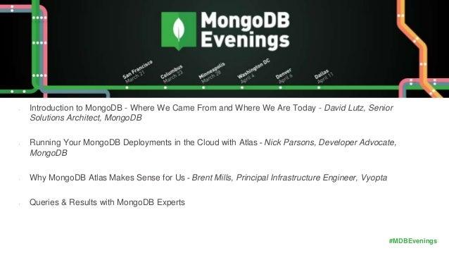 mongodb austin MongoDB Evening Austin, TX 2017