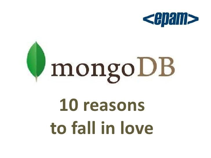10 reasonsto fall in love