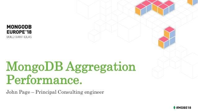 MongoDB Aggregation Performance