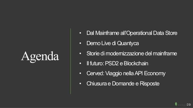 MongoDB Breakfast Milan -  Mainframe Offloading Strategies Slide 2