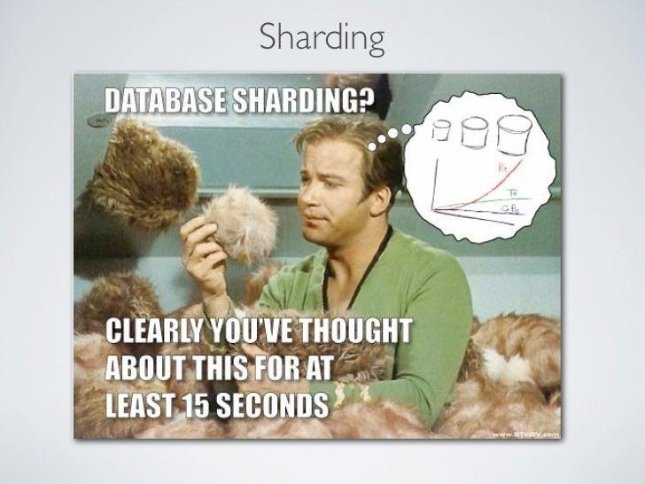 ShardingServer A   Server B    Server C                      Web App