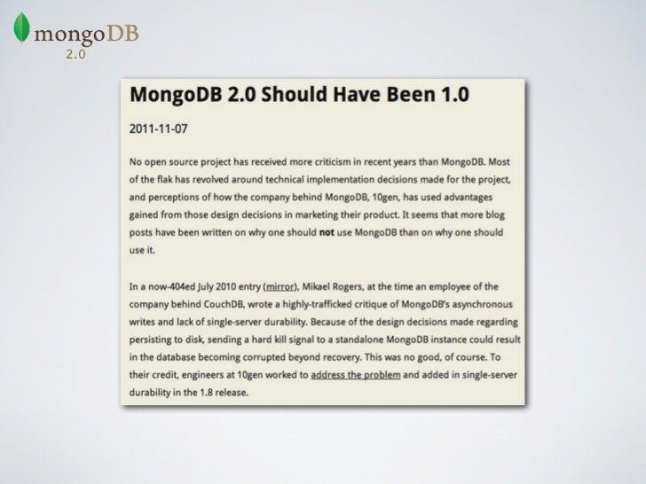 E não é só a Locaweb que utiliza MongoDB...