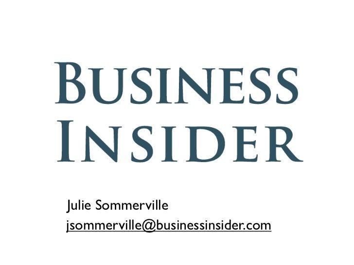 Julie Sommervillejsommerville@businessinsider.com