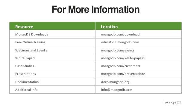 mongodb 3.6 documentation pdf
