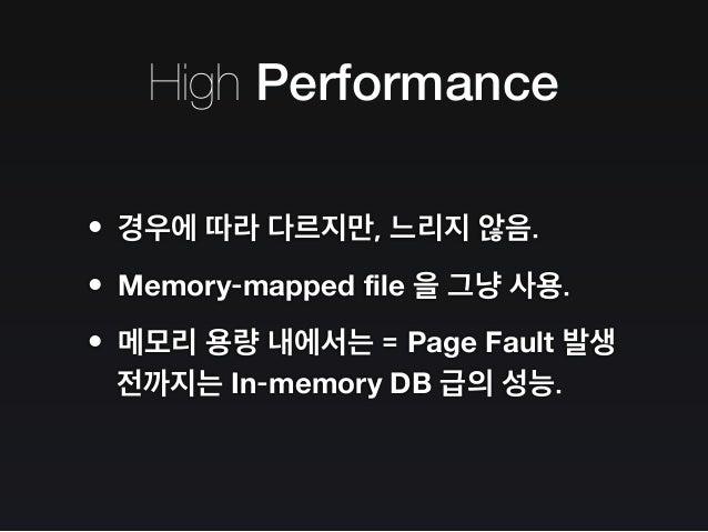 The MongoDB Strikes Back / MongoDB 의 역습 Slide 19