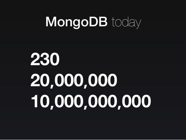 The MongoDB Strikes Back / MongoDB 의 역습 Slide 42