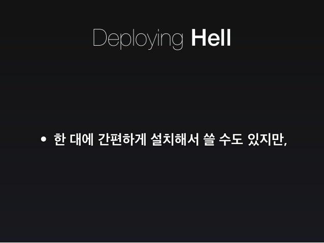Deploying Hell Master Master - Slave Replication Slave Replication