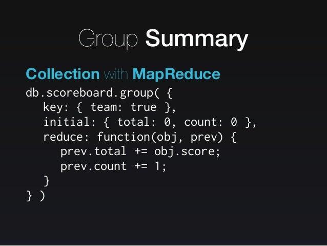 The MongoDB Strikes Back / MongoDB 의 역습 Slide 64
