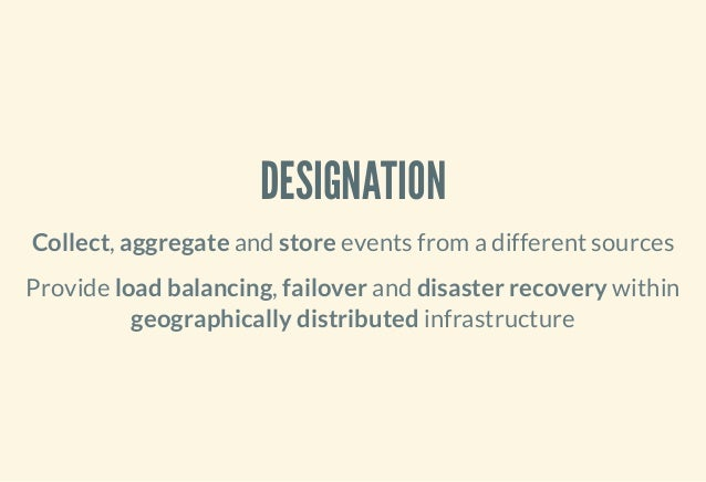 mongodb warehouse and aggregator of events