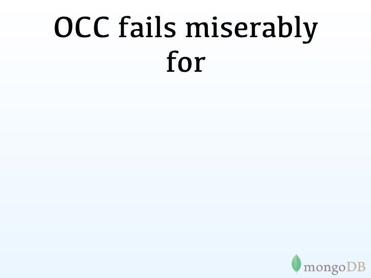 OCC fails miserably         for•eBay•Gilt•Groupon