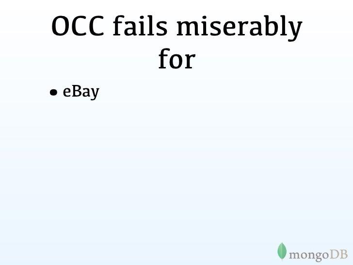 OCC fails miserably         for•eBay•Gilt•Groupon•OpenSky