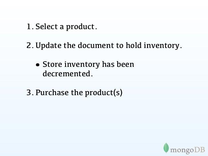 Transactionsin MongoDB