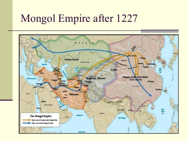 the different changes ushered in by the mongol empire