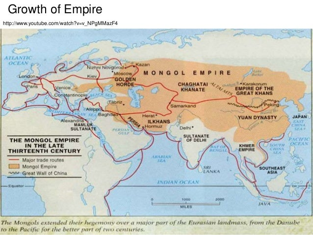 Genghis khan the great leader of the mongol empire