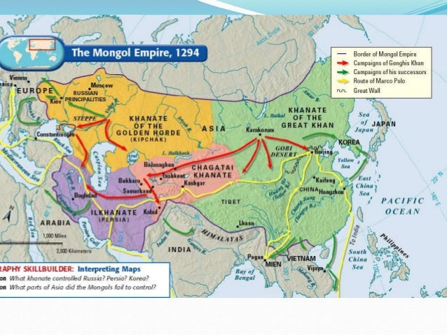 changes and continuities of the mongol empire Addresses: full time period and change/continuity china: spheres of  of the  following empires mali or ghana or songhai aztec empire mongol empire.