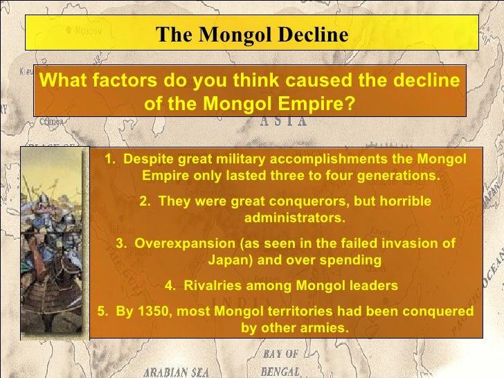 How did the mongols accomplish the