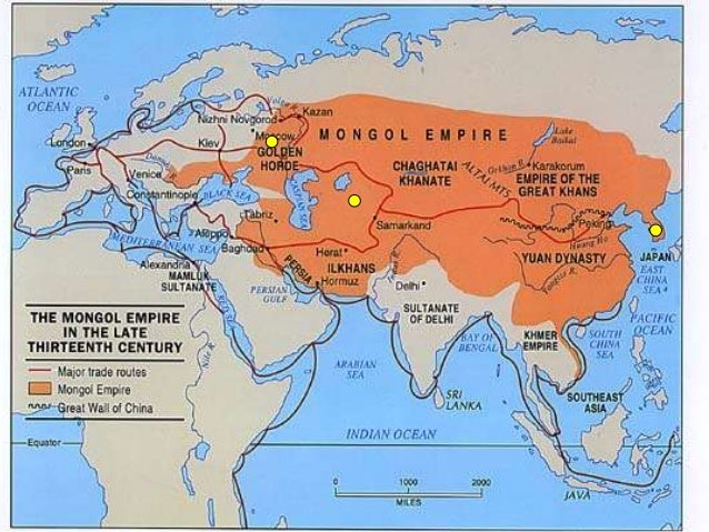 compare and contrast the effects of mongol rule on china russia and persia Compare and contrast economic and political effects of the mongol rule in the middle east and china essay.