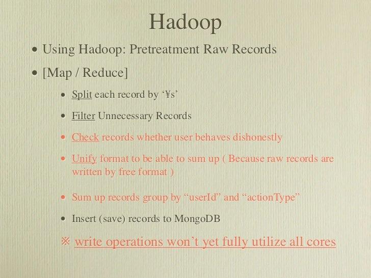 Social Data and Log Analysis Using MongoDB