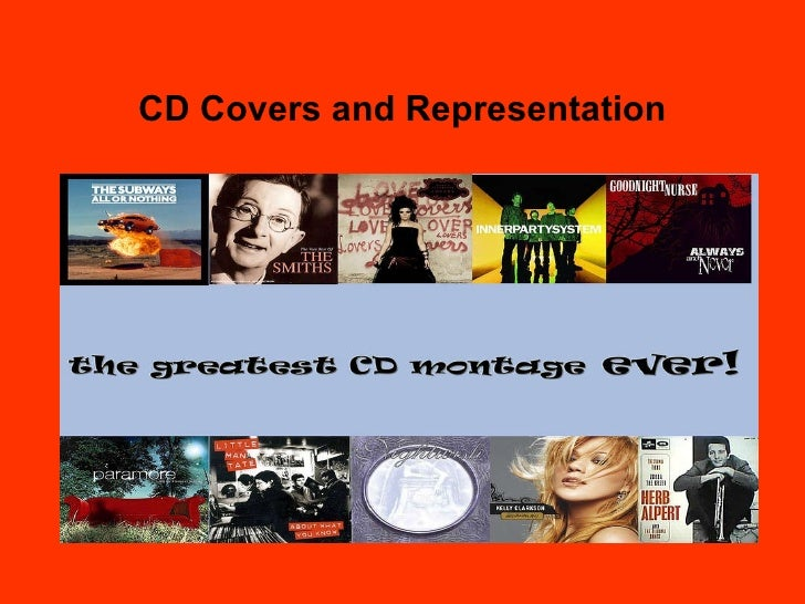 CD Covers and Representation