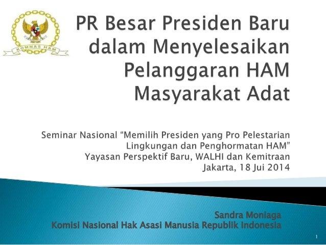 Sandra Moniaga Komisi Nasional Hak Asasi Manusia Republik Indonesia 1