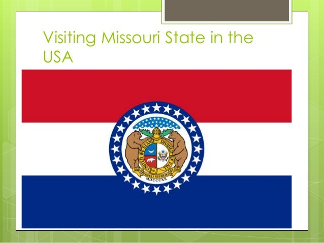 Visiting Missouri State in the USA
